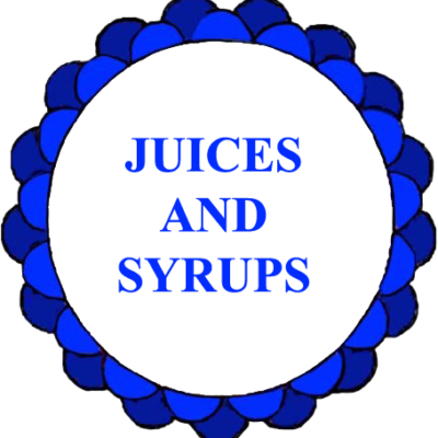 Juices and Syrups