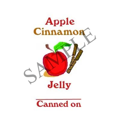 Apple Cinnamon Jelly Canning Label #L324