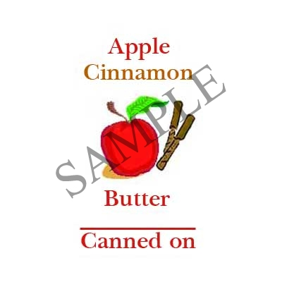 Apple Cinnamon Butter#L358