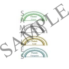 Lace Oval Canning Label #OV301-304